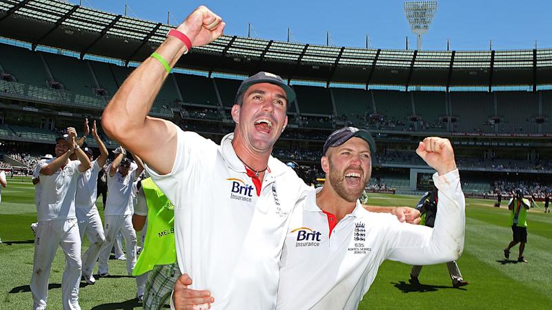 Kevin Pietersen and Matt Prior, pictured here after winning the Ashes in 2010.