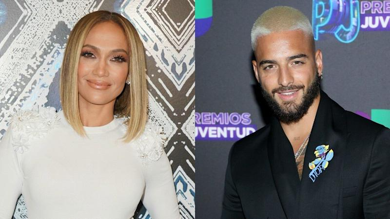 Jennifer Lopez and Maluma Kick Off 'Marry Me' First Day of Filming -- See the Pics