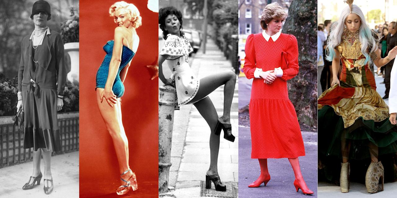 <p>An instant pick-me-up for any outfit, imbuing their wearer with confidence and giving her a figure-flattering boost, high heels have been an integral component of every woman's wardrobe for centuries. Click through to see how the shoe has evolved over the years. </p>