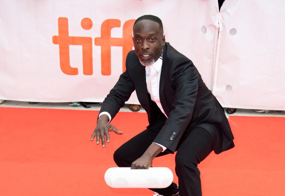 Actor Michael K. Williams attends the premiere of