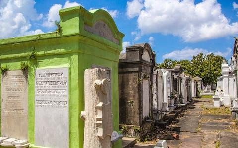 new orleans cemetery - Credit: KYLIE MCLAUGHLIN