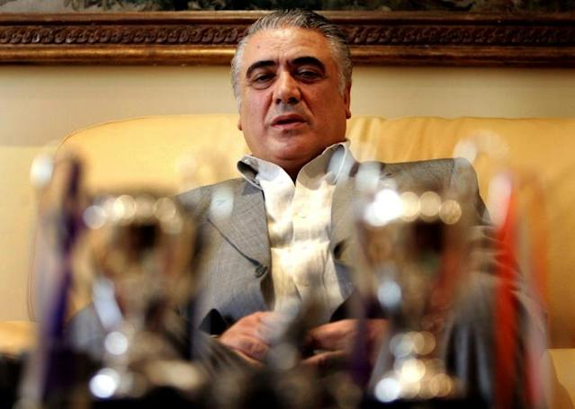 Former Real Madrid FC President Lorenzo Sanz died of coronavirus (AFP Photo/STR)