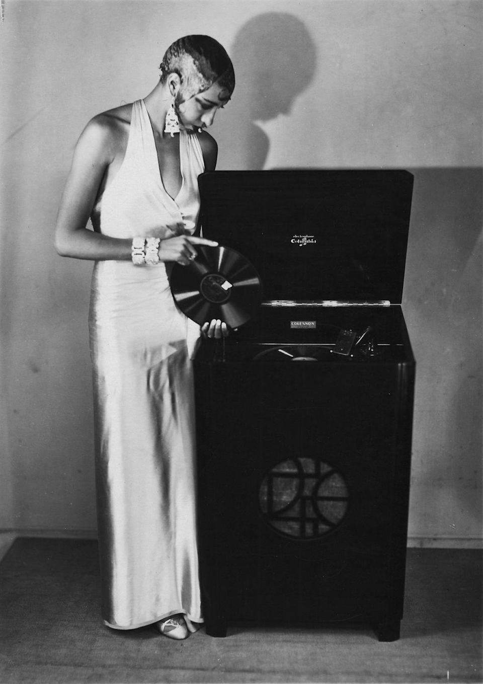 """<p>With the rise in Baker's profile, opportunities like recording her own music began to appear. In 1926, the singer recorded her first song and throughout the next 50 years she <a href=""""https://medium.com/@johnjdunphy/josephine-baker-the-activist-black-venus-d0955dd19a0b"""" rel=""""nofollow noopener"""" target=""""_blank"""" data-ylk=""""slk:would produce over 200 songs"""" class=""""link rapid-noclick-resp"""">would produce over 200 songs</a> in various languages.</p>"""