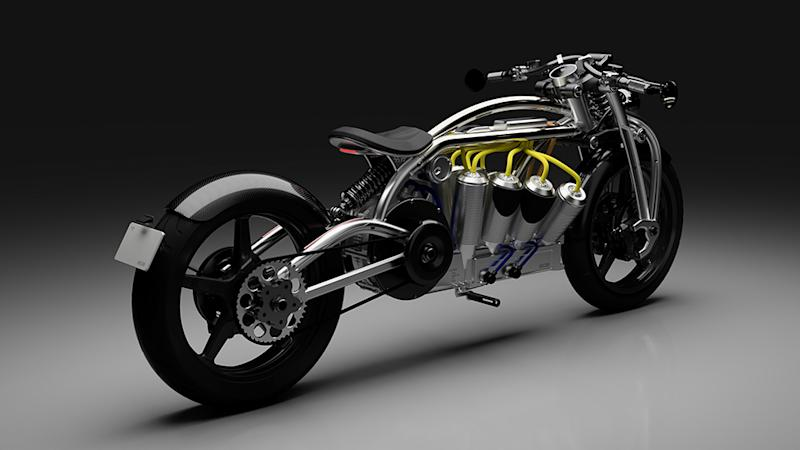Curtiss Motorcycles' Zeus Radial V8