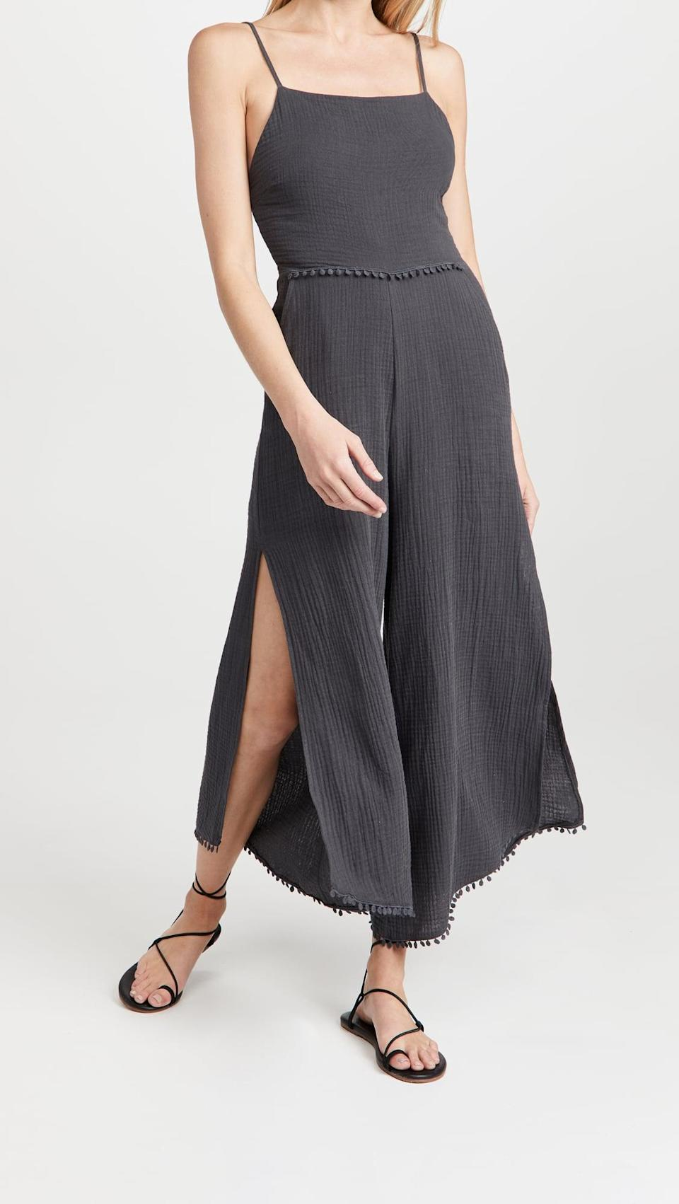 <p>This <span>Z Supply Wayfarer Gauze Jumpsuit</span> ($138) is so breathable and perfect for summer.</p>