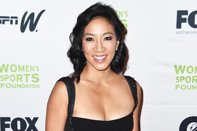 Michelle Kwan is an elegant powerhouse on and off the ice. (Photo: Nicholas Hunt/Getty Images)