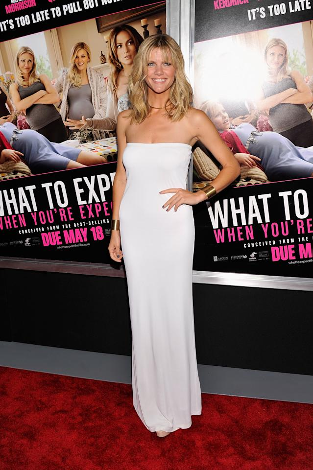 """NEW YORK, NY - MAY 08:  Brooklyn Decker attends the """"What To Expect When You're Expecting"""" New York Screening at AMC Lincoln Square Theater on May 8, 2012 in New York City.  (Photo by Stephen Lovekin/Getty Images)"""