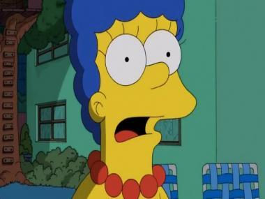 The Simpsons character Marge takes a hit at Donald Trump's aide after her jibe at Kamala Harris