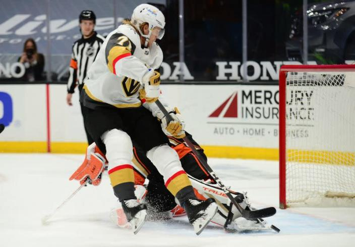 NHL: Vegas Golden Knights at Anaheim Ducks