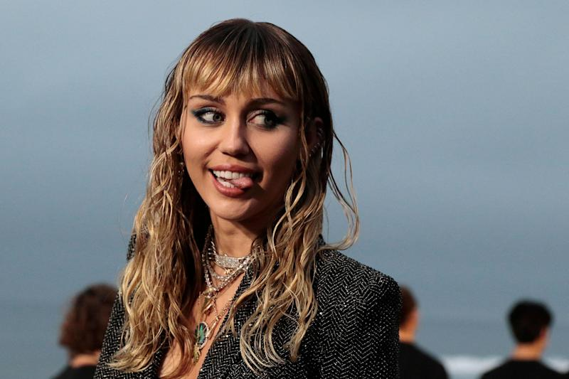 Miley Cyrus: no stranger to controversy: KYLE GRILLOT/AFP/Getty Images