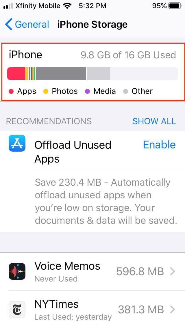 how to offload ios apps manual offload2