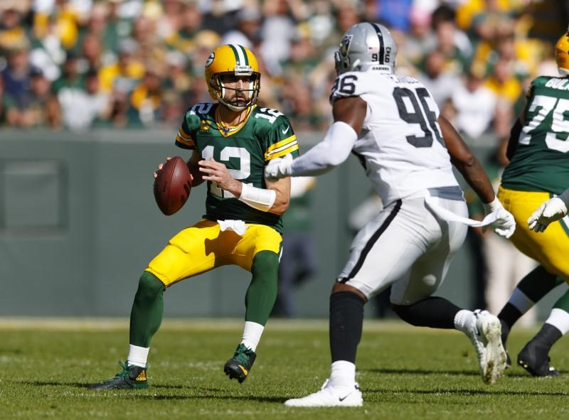 NFL: Oakland Raiders at Green Bay Packers