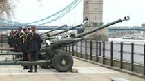 Gun salutes fired in Edinburgh and London in tribute to Prince Philip
