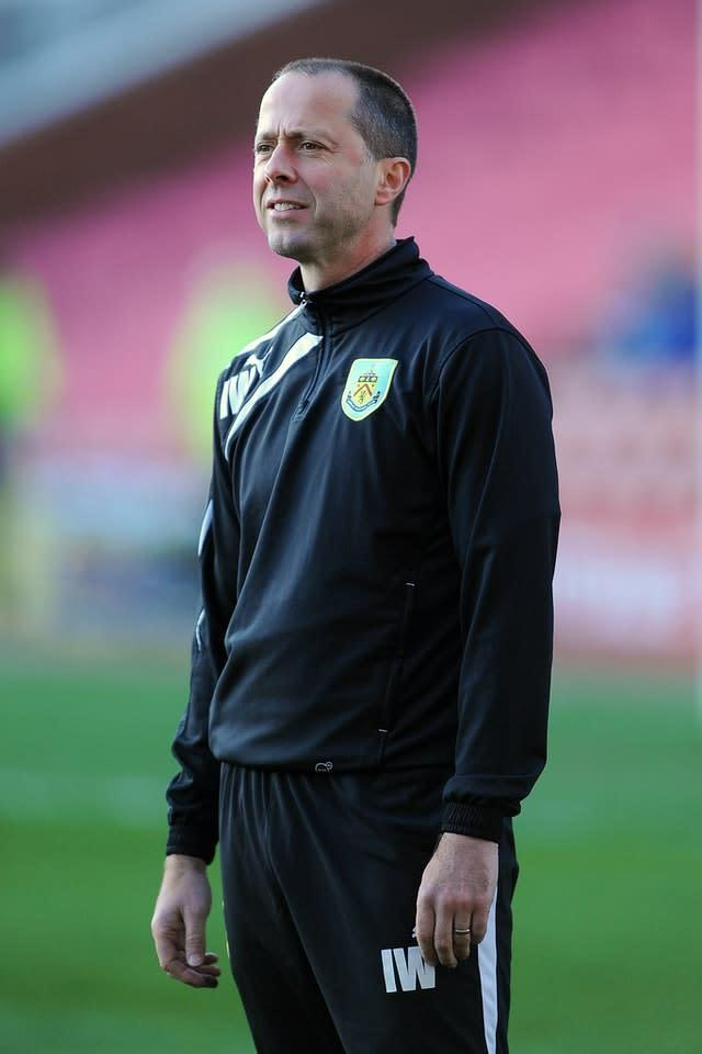 Burnley assistant manager Ian Woan tested positive for Covid-19 (Nigel French/PA)