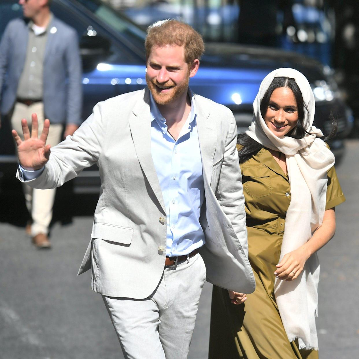The Duke and Duchess Of Sussex Visit Auwal Mosque during their South Africa tour - WireImage
