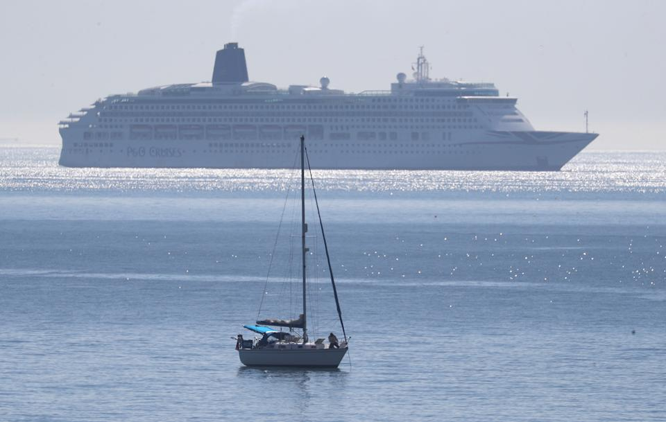 P&O Cruises, which last week revealed plans to offer a series of short break and week-long UK sailings out of Southampton this summer, said it was 'delighted' by the acknowledgement. Photo: Andrew Matthews/PA via Getty