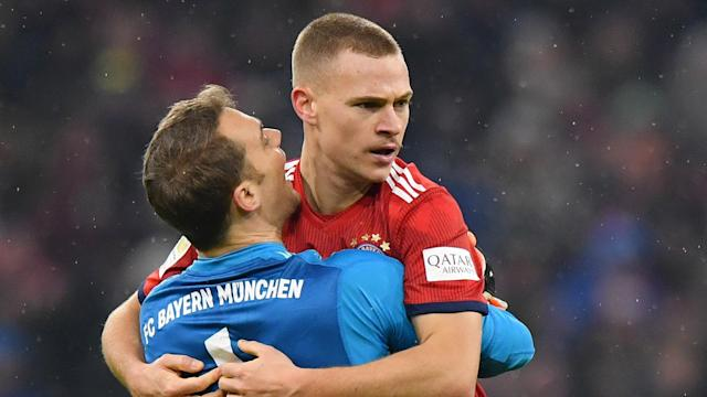 While supportive of Manuel Neuer, Joshua Kimmich saw nothing wrong with Marc-Andre ter Stegen's comments about Germany's selection order.