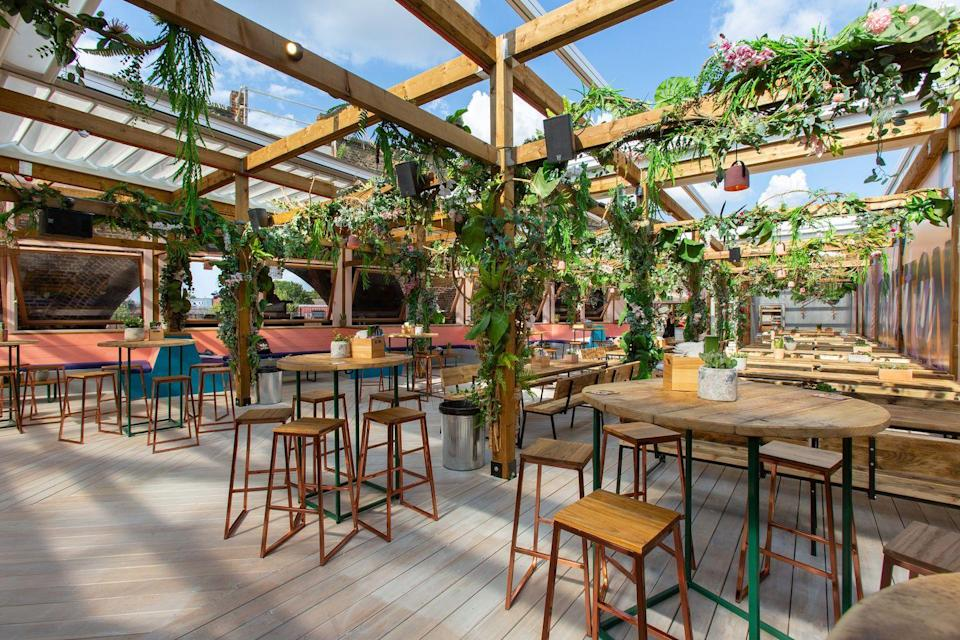 """<p><strong>Happy hour deal:</strong></p><p>The Brixton Village <a href=""""https://www.elle.com/uk/life-and-culture/travel/g34481144/london-outdoor-terraces/"""" rel=""""nofollow noopener"""" target=""""_blank"""" data-ylk=""""slk:terrace venue"""" class=""""link rapid-noclick-resp"""">terrace venue </a>offers two-for-one on selected drinks (beer, Prosecco, gin and tonics included) between 4 and 6pm Tuesday to Friday.</p><p>Find out more <a href=""""https://www.lostinbrixton.com/whats-on/"""" rel=""""nofollow noopener"""" target=""""_blank"""" data-ylk=""""slk:here"""" class=""""link rapid-noclick-resp"""">here</a>.</p>"""