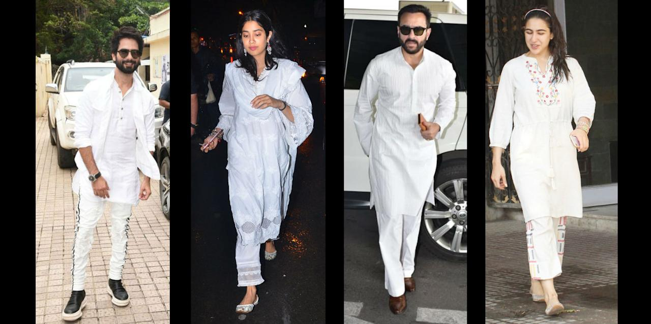 We have put together some kurtas that are on the lower-budget side, so that even if they get messed up with colours, it won't pinch your wallet and your guilt.
