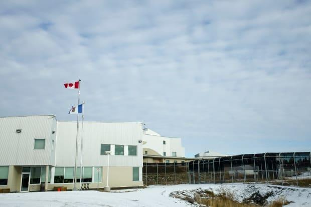 A file photo of the North Slave Correctional Complex in Yellowknife. The N.W.T. is housing 10 inmates from Nunavut displaced by a fire at the Baffin Correctional Centre on March 18. (Walter Strong/CBC - image credit)