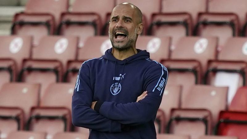 Guardiola urges Man City to seal place among Europe's greats