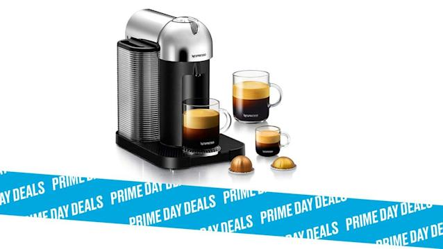Photo Illustration by Elizabeth Brockway/The Daily Beast * Nespresso Vertuo Coffee and Espresso Machine by Breville, $150 (25% off). * Easy-to-use, different cup sizes, smart devices capabilities. * Shop the rest of our other Prime Day deal picks here. Not a Prime member yet? Sign up here.Nespresso really got it right with this espresso machine whose top design gets matched with high function. Brought to you by design-minded Breville, the device will complement your kitchen style and elevate your time in it, not to mention help you energize for the coming day. | Get it on Amazon >Let Scouted guide you to the best Prime Day deals. Shop Here >Scouted is internet shopping with a pulse. Follow us on Twitter and sign up for our newsletter for even more recommendations and exclusive content. Please note that if you buy something featured in one of our posts, The Daily Beast may collect a share of sales.Read more at The Daily Beast.Got a tip? Send it to The Daily Beast hereGet our top stories in your inbox every day. Sign up now!Daily Beast Membership: Beast Inside goes deeper on the stories that matter to you. Learn more.