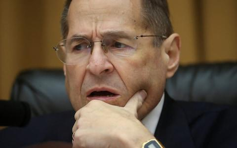 House Judiciary Committee Chairman Jerry Nadler speaks as the House Judiciary Committee meets to vote on holding Attorney General William Barr in contempt - Credit: Reuters