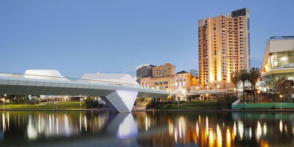 """<p>Though not as known as Sydney and Melbourne, there's much to recommend in the coastal town of Adelaide, the capital of South Australia. In terms of hotels, there's the swanky <a href=""""https://go.redirectingat.com?id=74968X1596630&url=https%3A%2F%2Fwww.tripadvisor.com%2FHotel_Review-g255093-d7356207-Reviews-Mayfair_Hotel-Adelaide_Greater_Adelaide_South_Australia.html&sref=https%3A%2F%2Fwww.redbookmag.com%2Flife%2Fg37132507%2Fup-and-coming-travel-destinations%2F"""" rel=""""nofollow noopener"""" target=""""_blank"""" data-ylk=""""slk:Mayfair"""" class=""""link rapid-noclick-resp"""">Mayfair</a>, and a Sheraton and Sofitel in the pipeline. </p><p>Dining-wise, <a href=""""https://go.redirectingat.com?id=74968X1596630&url=https%3A%2F%2Fwww.tripadvisor.com%2FRestaurant_Review-g255093-d5989508-Reviews-Orana-Adelaide_Greater_Adelaide_South_Australia.html&sref=https%3A%2F%2Fwww.redbookmag.com%2Flife%2Fg37132507%2Fup-and-coming-travel-destinations%2F"""" rel=""""nofollow noopener"""" target=""""_blank"""" data-ylk=""""slk:Orana"""" class=""""link rapid-noclick-resp"""">Orana</a>, from chef-owner Jock Zonfrillo, is garnering top honors across Australia, as are other culinary hotspots like <a href=""""https://go.redirectingat.com?id=74968X1596630&url=https%3A%2F%2Fwww.tripadvisor.com%2FRestaurant_Review-g255093-d7353266-Reviews-Africola-Adelaide_Greater_Adelaide_South_Australia.html&sref=https%3A%2F%2Fwww.redbookmag.com%2Flife%2Fg37132507%2Fup-and-coming-travel-destinations%2F"""" rel=""""nofollow noopener"""" target=""""_blank"""" data-ylk=""""slk:Africola"""" class=""""link rapid-noclick-resp"""">Africola</a> and <a href=""""https://go.redirectingat.com?id=74968X1596630&url=https%3A%2F%2Fwww.tripadvisor.com%2FAttraction_Review-g4400652-d551465-Reviews-Penfolds_Magill_Estate_Cellar_Door-Magill_Burnside_Greater_Adelaide_South_Austral.html&sref=https%3A%2F%2Fwww.redbookmag.com%2Flife%2Fg37132507%2Fup-and-coming-travel-destinations%2F"""" rel=""""nofollow noopener"""" target=""""_blank"""" data-ylk=""""slk:Penfolds Magill Estate"""" class=""""link rapid-noclick-resp"""">Penfolds Magill Estat"""