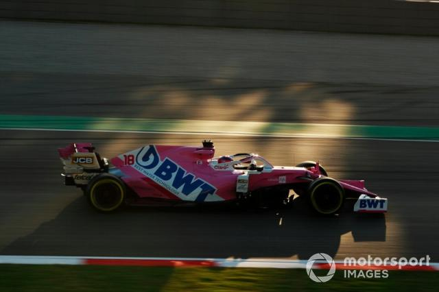 """16º Lance Stroll, Racing Point RP20: 1:17.118 (con neumáticos C3) <span class=""""copyright"""">Steven Tee / Motorsport Images</span>"""