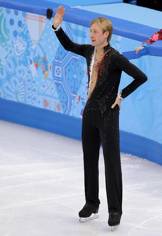 Plushenko will not skate in Olympic gala