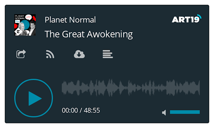 Planet Normal podcast - latest episode