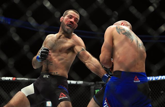 Matt Brown has been in the UFC for nearly a decade. (Getty)