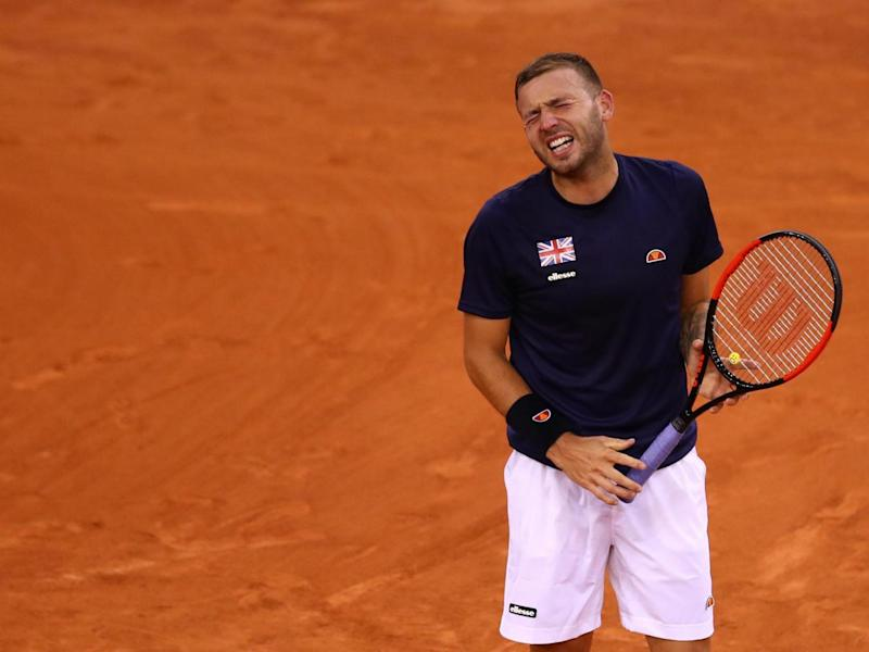 Clay is the Brit's least favourite surface (Getty)