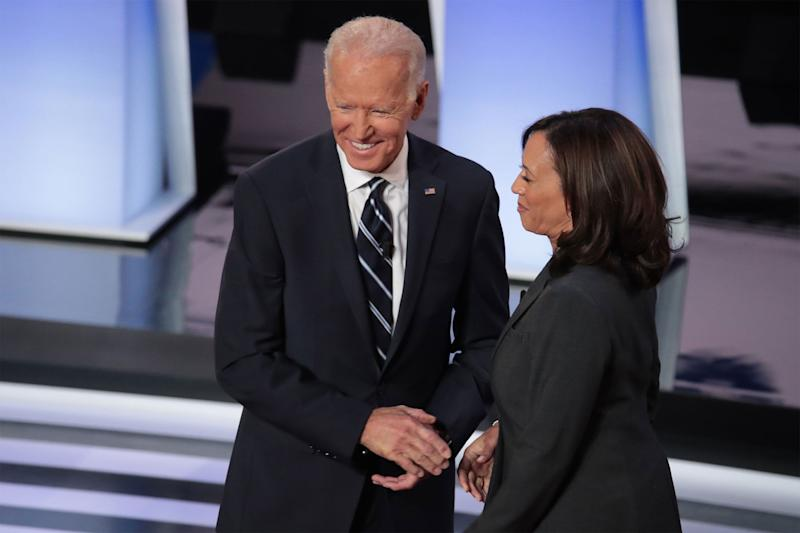 Harris Raises Cash While Biden Talks About Running Mate Search