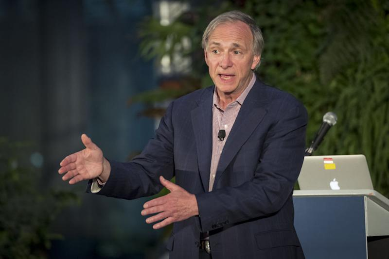 Ray Dalio, billionaire and founder of Bridgewater Associates. (Photographer: David Paul Morris/Bloomberg)
