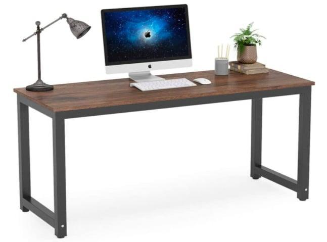 <p>Upgrade that clunky old desk with this sleek <span>Tribesigns Computer Desk</span> ($170).</p>