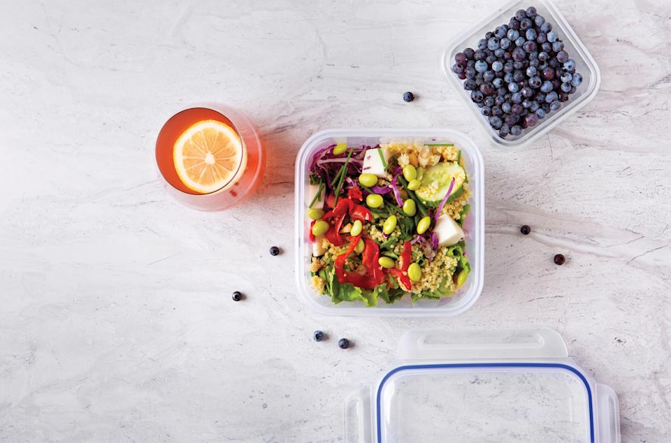 Tupperware from Canadian Tire makes it easy to keep lunch simple