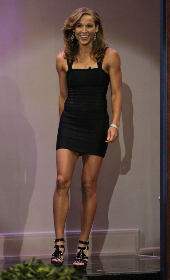 """<p><b>2. """"The Virgin Bachelorette""""</b><br> Given how much attention has been paid to Lolo Jones's sex appeal and virgin status, she seems an easy choice to be the next Bachelorette. Find her a bevy of guys, throw in a hot tub, and it's a done deal. She's got to be more interesting than Emily, and we're sure she'll find a way to mention the virgin thing about 1,000 times an episode.</p>"""