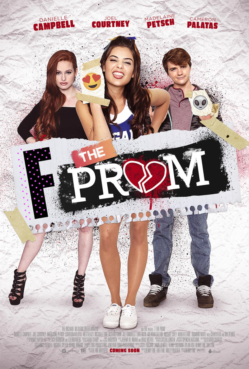 'F The Prom' Poster