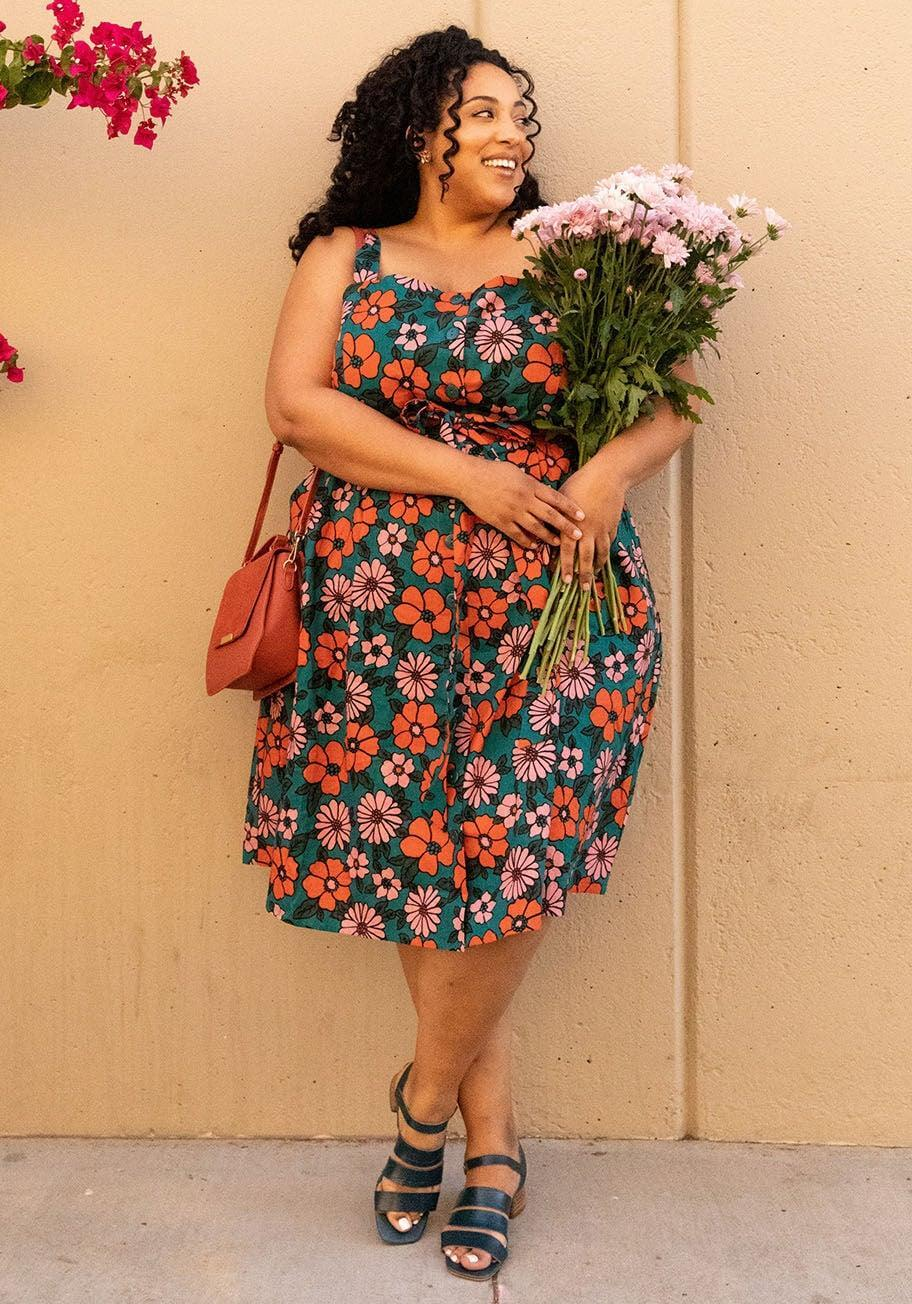 <p>Nothing says summer like this <span>ModCloth x Princess Highway Floral Sundress</span> ($79).</p>