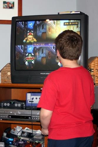 """<div class=""""caption-credit""""> Photo by: Brian Gresko</div><div class=""""caption-title""""></div><b>Watching Television</b> <br> How much TV we watched was rarely debated, as my parents almost always had one on. As long as it was before ten o'clock, I could mostly watch what I wanted. These days, I'm all over Felix's TV habits, monitoring how long and what he's watching. On afternoons when he's really tired, or I need to get on the computer and work, I let him watch more than his usual hour's worth, and then fret about it the rest of the day, feeling guilty. As if letting your kid watch TV is a failure in parenting!"""