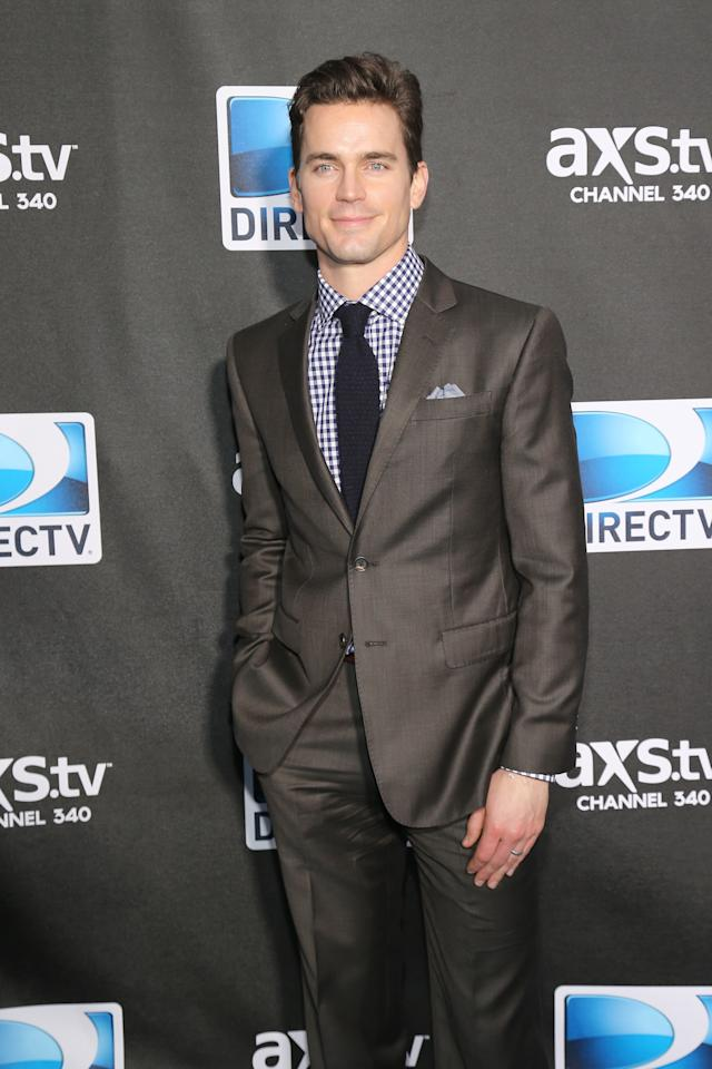 NEW ORLEANS, LA - FEBRUARY 02:  Actor Matt Bomer attends DIRECTV Super Saturday Night Featuring Special Guest Justin Timberlake & Co-Hosted By Mark Cuban's AXS TV on February 2, 2013 in New Orleans, Louisiana.  (Photo by Neilson Barnard/Getty Images for DirecTV)