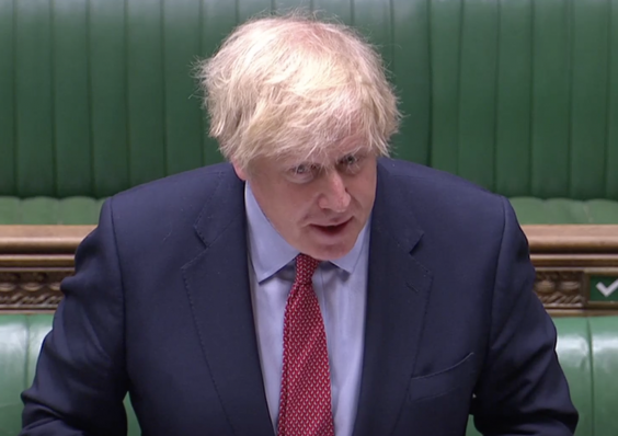 Boris Johnson repeatedly made false claims about the content of his Brexit deal (Reuters TV)