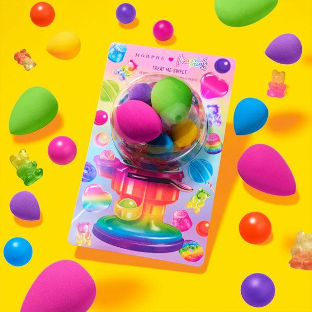 PHOTO: These rainbow beauty sponges in mini and full sizes are just what you need to blend out a sweet base for your gorg looks. (Morphe X Lisa Frank)