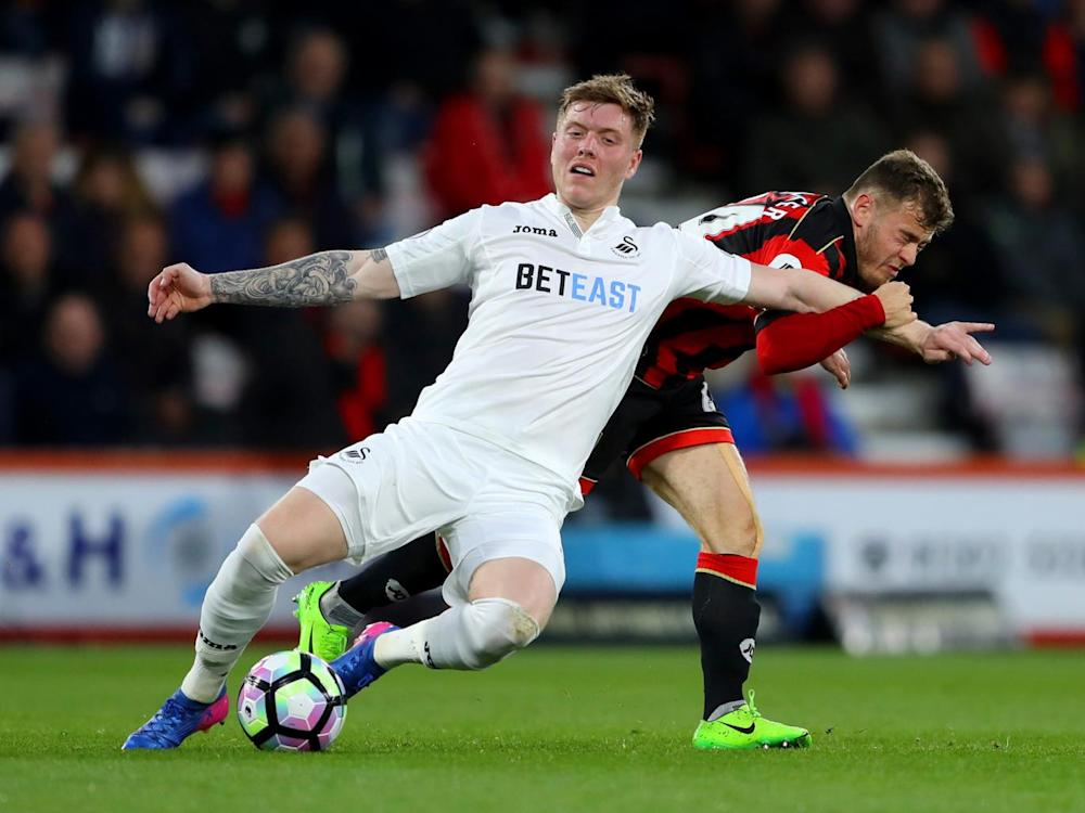 Alfie Mawson has proved effective at both ends since his debut (Getty)