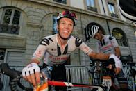 """<p><strong>Who's Winning the Tour?</strong></p><p>Jumbo-Visma's Primož Roglič finished safely in a reduced peloton at the end of a hectic Stage 14 in Lyon, defending his overall lead in the 2020 Tour de France. Team Sunweb's Søren Kragh Andersen won the stage with a strong attack about 3km from the finish line, catching the peloton by surprise and holding them off to take the biggest win of his career. Mitchelton-Scott's Luka Mezgec finished second and Cofidis's Simone Consonni celebrated his 26th birthday by finishing third. On the General Classification, Roglič still leads UAE's Tadej Pogačar and INEOS Grenadiers's Egan Bernal by 44 and 59 seconds, respectively.</p><p><strong>Who's <em>Really</em> Winning the Tour?</strong></p><p>Stage 15 takes the Tour into the Jura mountains for a super-hard stage that finishes atop the """"Beyond Category"""" Grand Colombier. If Roglič manages to ride as well as he did on Friday's summit finish on the Puy Mary, the Slovenian will head into the Tour's second Rest Day firmly in the driver's seat of the 2020 Tour de France.</p>"""