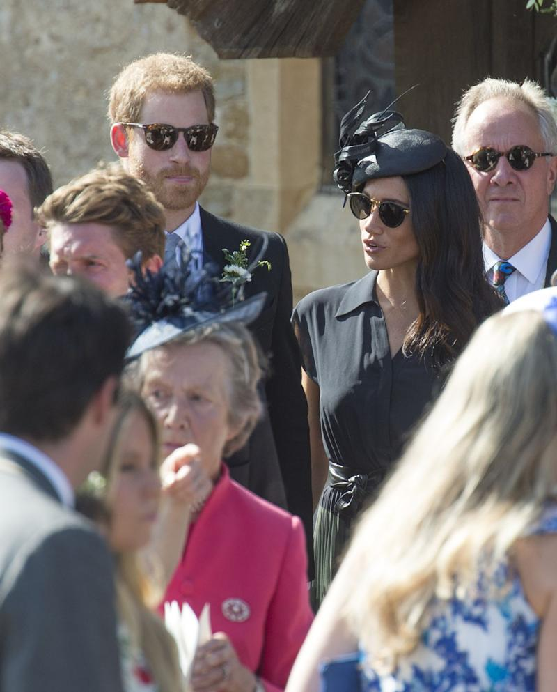 Meghan Markle reveals her special something blue at royal wedding