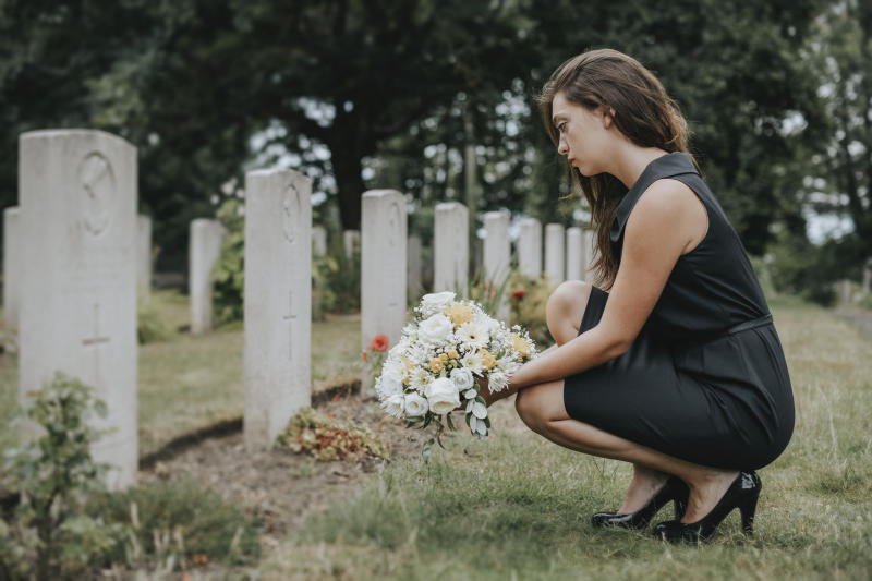 Social distancing measures have impacted funerals. (Getty Images)