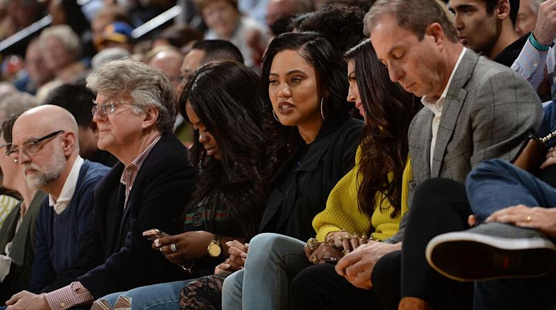 Watch: Ayesha Curry Argues With Rockets Fan After He Bumps Her Pregnant Belly