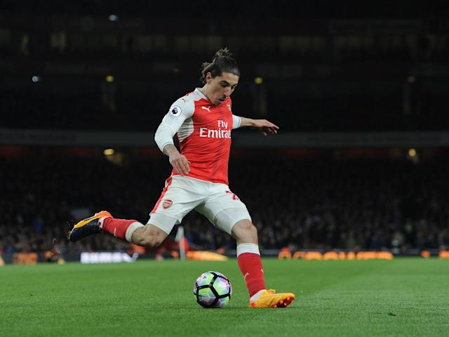 Bellerin returned to the Arsenal starting XI after being benched for the last two games: Getty